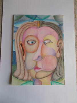 volto - cubismo- don Pietro Maroldi